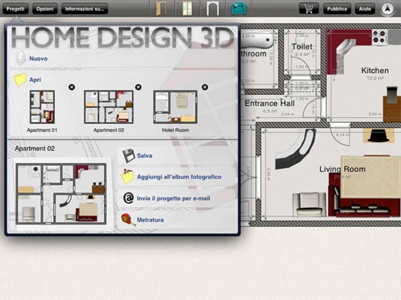 app per progettare casa upper app